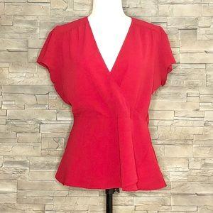 Le Chateau red blouse